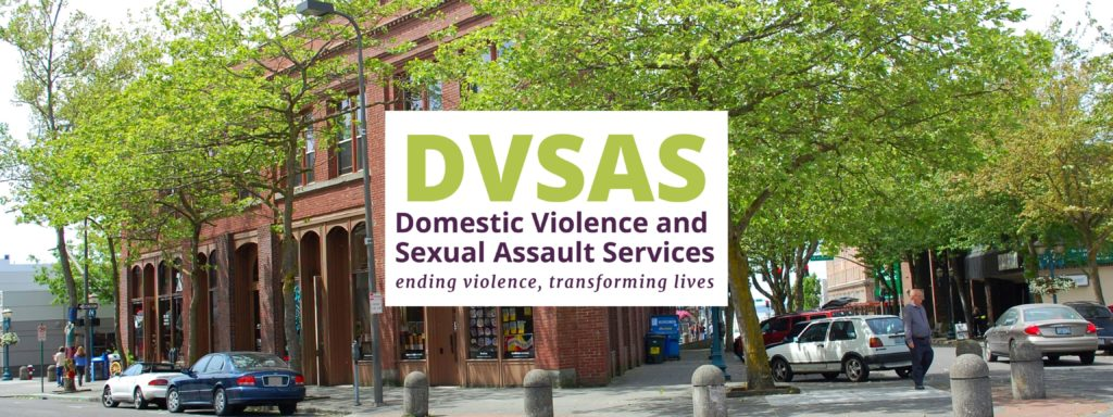 DVSAS logo with picture of DVSAS building