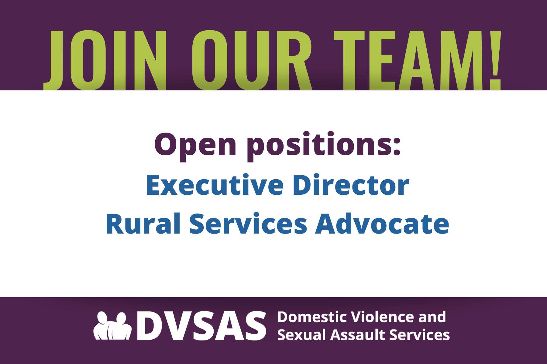 https://www.dvsas.org/get-involved/employment-opportunities/